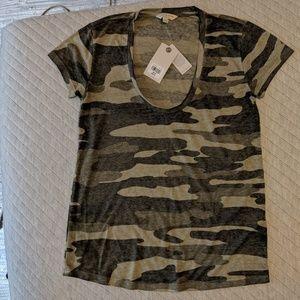 NWT Lucky Brand camo t-shirt, XS